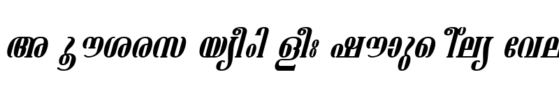 Preview of ML-TTAshtamudi Italic
