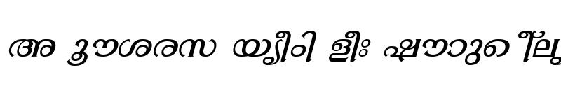 Preview of ML-TTGopika Italic
