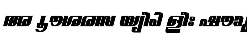 Preview of ML-TTNarmadaExBold Italic